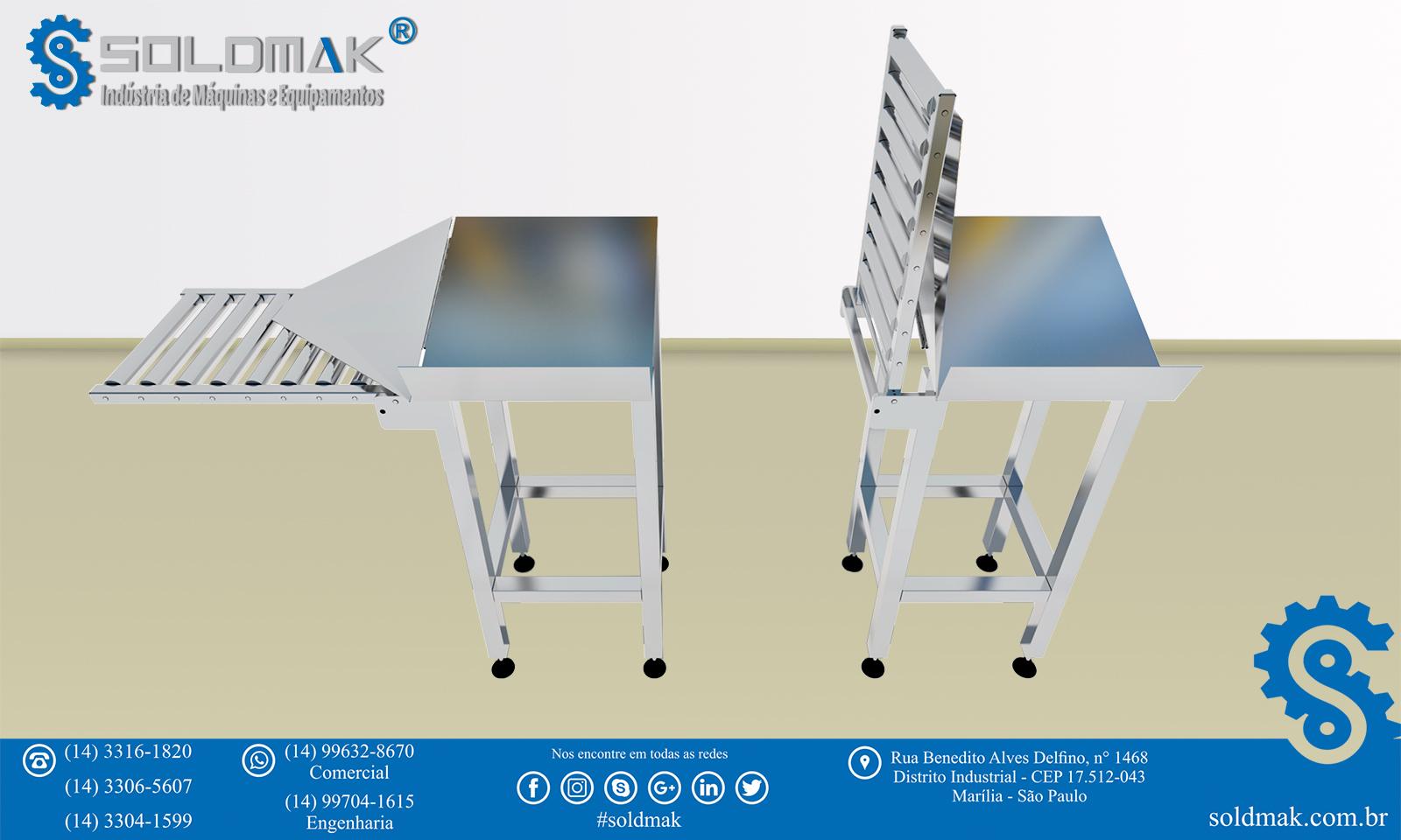 Mesa para Embalagem de Caixas